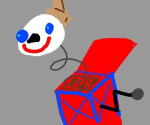 JACK IN THE BOX SCREAMING POP GOES THE WHEASL