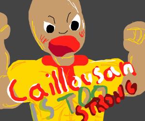 caillou-san too strong
