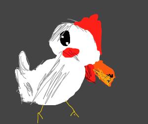 Chicken or some sort of bird