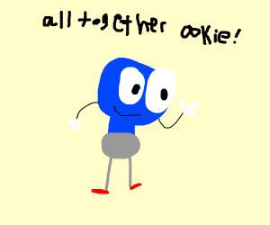 Lightbulb man says all together ookie