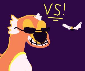 Cheetos Cheetah vs Cocoa Puffs Bird