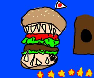 Evil Hamburger