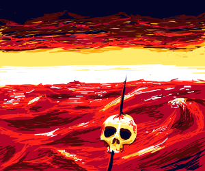barren ghastly wasteland