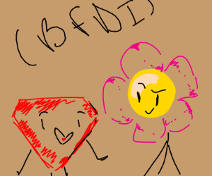 Ruby and Flower (BFDI)