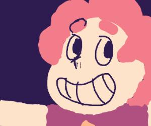 Steven Universe has Rose Quartz's hair