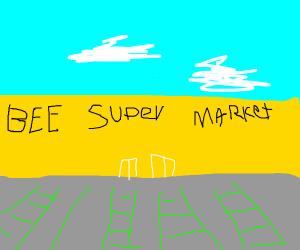 Bee supermarket