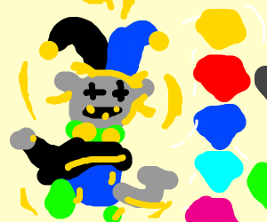 Jevil has the chaos emeralds