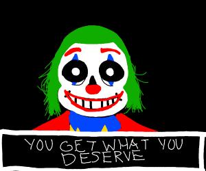 Sans but Joker