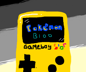 pokemon blue on gameboy color