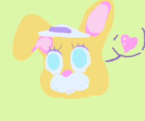 easter bunny loves you <3