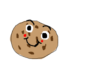 Smiling cookie