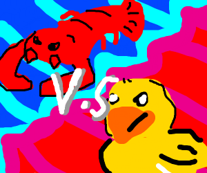 Duckling vs. Lobster