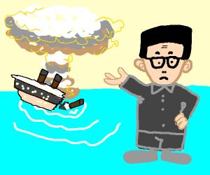 atomwaffen leader sinks the titanic