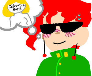 kakyoin loves jotaro's mom