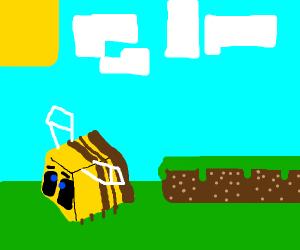 Minecraft adding bees in 1.15