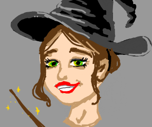 Happy witch!