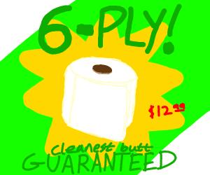 6 ply toilet paper