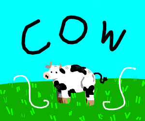 pretty much just a cow