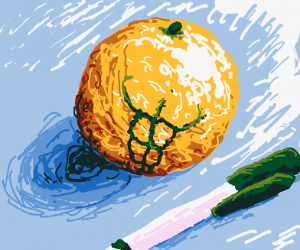 Buff orange