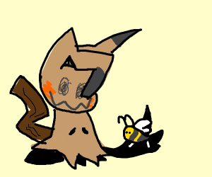 mimikyu and freind the anime of all animes