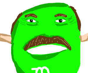 Dr. Phil as a Green M&M