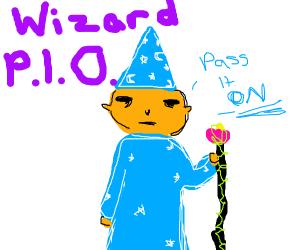 Wizard PIO (pass it on)