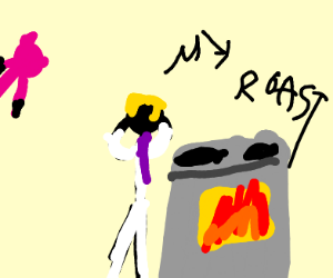 killer queen burned the roast