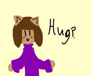Kawaii Furry fox wants a hug