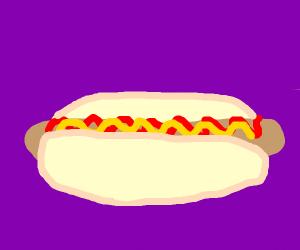 a beautiful hot dog