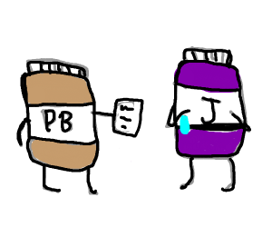 Peanut butter and Jelly get divorced