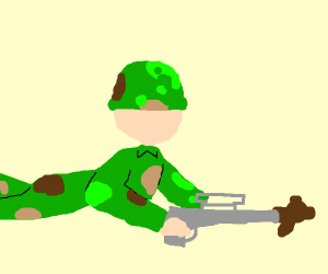 Military starts using bears as ammunition.