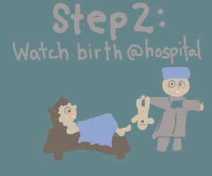 """Step1:ur child asks""""Where do babies come from"""