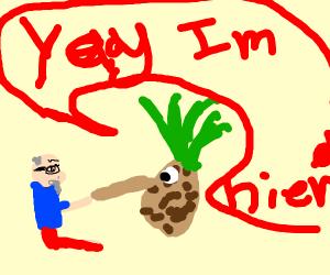 Elderly Boss Hires Pineapple