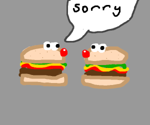 burger apologizes 2 other burger