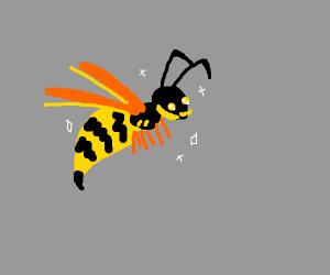 Kawaii wasp