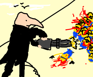 Gru guns down Minion Hoard