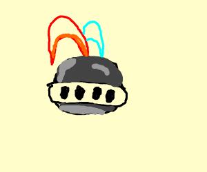knites helmet
