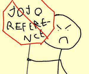 Every single game needs a jojo refrence