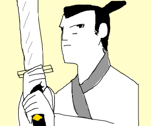 That samurai from China you see most days