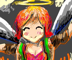 Hot Dog Angel