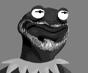 Kermit hasn't aged well, is bearded old man