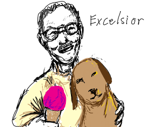 Stan Lee liked dogs and ice cream
