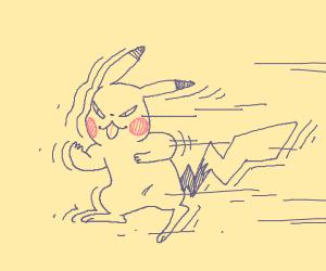 Hyper Speed Pikachu