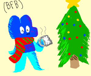 bfb (LOOK IT UP) on christmas - Drawception