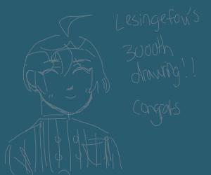 Lesingefou's 3000th drawing (congrats!)