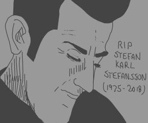 RIP Stefan Karl Stefansson (Robbie Rotten)