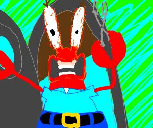 MR KRABS IS A ROBOT! GET HIM!