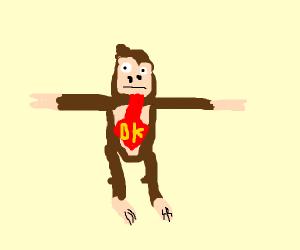 t-posing donkey kong