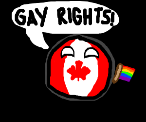 Canada says gay rights