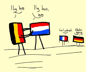 Netherlands & Belgium <3